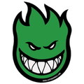 SPITFIRE WHEELS BIGHEAD STICKER~GREEN~