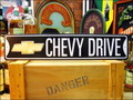 LONG STREET SIGN PLATE~CHEVY DRIVE~