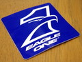 RACING STICKER~EAGLE ONE~(S SIZE)