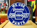 CHEVROLET ROUND SIGN PLATE