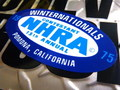 RACING STICKER~NHRA 1975 POMONA~
