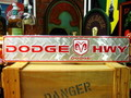 LONG STREET SIGN PLATE~DODGE HWY~