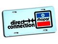 MOPAR DIRECT CONNECTION OFFICIAL LICENSE PLATE