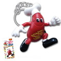 Jelly Belly PVC KEY RING
