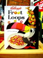 TIN SIGN~Kellogg's Froot Loops~