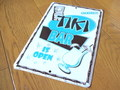 TIN SIGN~TIKI BAR~