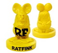 RAT FINK Old Style Statue~YELLOW~