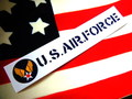 U.S.AIR FORCE STICKER~B~
