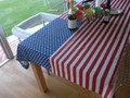 U.S.A. FLAG TABLECLOTH