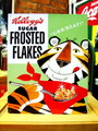 TIN SIGN~Kellogg's FROSTED FLAKES~