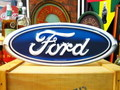FORD OVAL SIGN PLATE