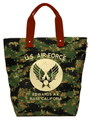 U.S.AIR FORCE CAMOUFLAGE TOTE BAG~ABU CAMO~