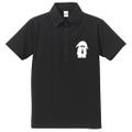 【予約販売】Iamうさぎ男子@ロップイヤー 半袖ポロシャツ(ボタンダウン) メンズ