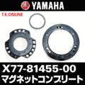 YAMAHA マグネットコンプリート X77-81455-00(ホイールマグネット)