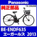 Panasonic エーガールズ (2013) BE-ENDF635 純正部品・互換部品【調査・見積作成】