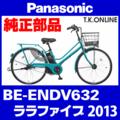 Panasonic ララファイブ (2013) BE-ENDV632 純正部品・互換部品【調査・見積作成】