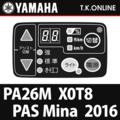YAMAHA PAS Mina 2016 PA26M X0T8 ハンドル手元スイッチ【全色統一】【代替品】