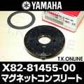 YAMAHA PAS ナチュラ S 2015 PA26NS X0L5 ホイールマグネット+ホルダーセット