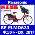 Panasonic BE-ELMD633用 スピードセンサーセット【ホイールマグネット+センサー+ハーネス+取付金具】