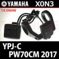 YAMAHA YPJ-C 2017 PW70CM X0N3 スイツチアセンブリ