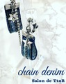 chain denim