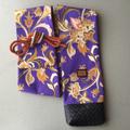 バティック柄 紫 竹刀袋