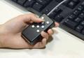 イッキーミニ:キーボードとマウスを手に持てる