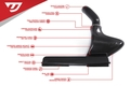 1.8/2.0 TSI GEN3 MQB CARBON FIBER INTAKE WITH AIR DUCT (UH009-INA)