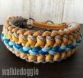 パラコード手編み首輪#459 小型犬〜超大型犬向き ハーフチョークマーティンゲール