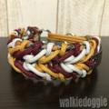 パラコード手編み首輪#497 小型犬〜超大型犬向き ハーフチョークマーティンゲール