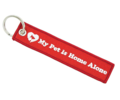 「 My Pet Is Home Alone 」 Alert Key Chain