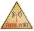 Free Wifi Tin