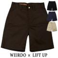 weirdo 19SS W&L_UP_SHORTS 65ポリ