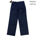 "weirdo LIFT UP  W&L Pants 65polye ""NAVY"""
