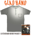 GLADHAND-13  GH-13 STANDARD HENRY S/S BLK