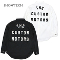 SHOWTECH 21SS01 TheCustomMotors WorkShirts TYPEⅢ
