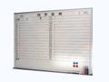 壁掛ホワイトボード(月行事・横書) W1200×H900
