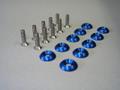 スナップボルト バリューセット 10 ブルー