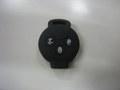 スマート451用シリコンキーカバー ブラック