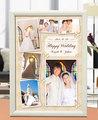 結婚式フォトフレーム、写真立て 名入れ対応 A4「shine」