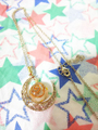 【受注予約】女性性を高め、愛を伝えるアラベスクムーンオルゴナイトネックレス