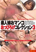 素人娘おマンコおっぴろげコレクション Vol.3