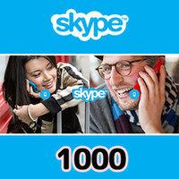 Skypeプリペイドカード(1,000円)