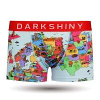 DARKHINY(ダークシャイニー)メンズボクサーパンツ -YELLOW LABEL- CARTOON MAP