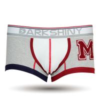 DARKHINY(ダークシャイニー)メンズボクサーパンツ emblem M gray color
