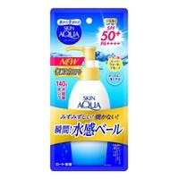 スキンアクア スーパーモイスチャージェル ポンプ 140g 【 ロート製* 】 【 UV・日焼け止め 】