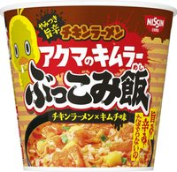 日清 チキンラーメン アクマのキムラー ぶっこみ飯 73g ×6個