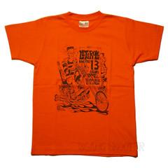 Franken Chopper オレンジ Tシャツ