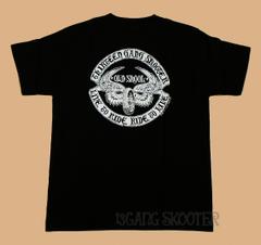 フライングホイール 黒 Tシャツ