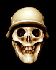 Helmet skull シフトノブ